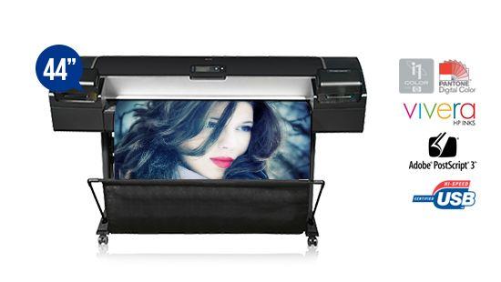 jual plotter hp designjet z5200 postscript printer graphic photo