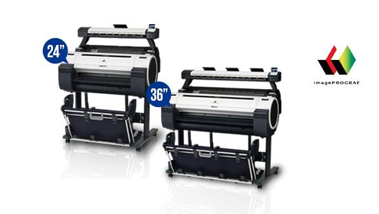 jual plotter canon imageprograf ipf671m ipf771m technical printer multifunction