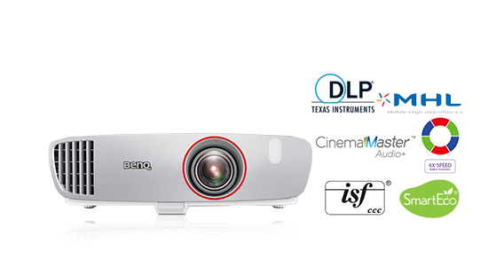 jual home cinema and gaming projector benq w1210st