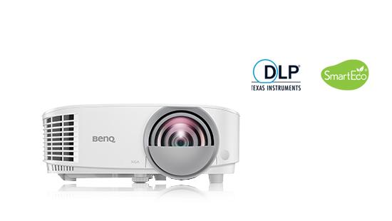 jual short throw projector benq mx808st