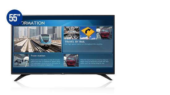 jual digital signage display solution lg 55lw540s