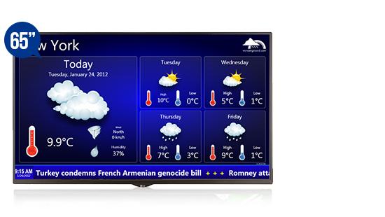 jual digital signage display solution lg 65se3b