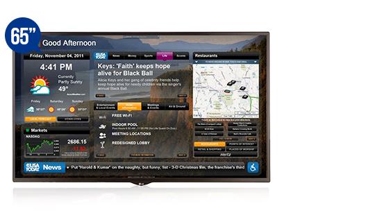 jual digital signage display solution lg 65sm5kd