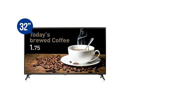 jual smart tv signage lg 32lv640s