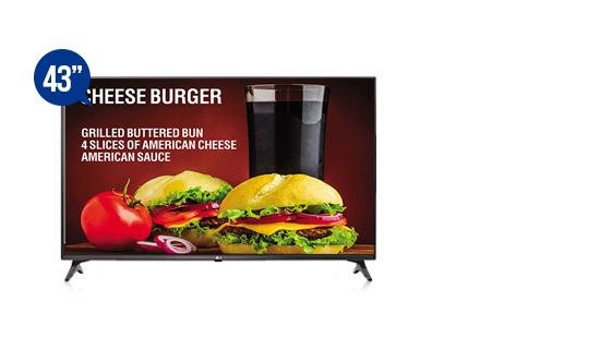 jual smart tv signage lg 43lv640s