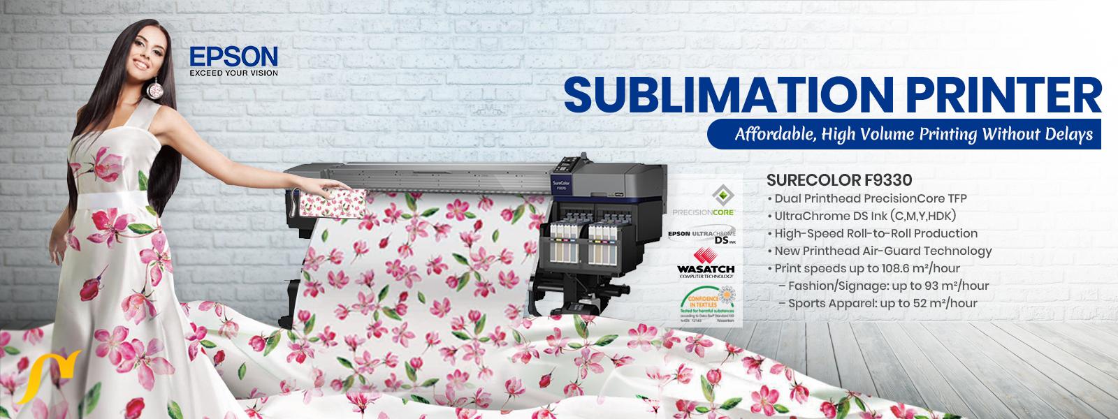 epson sublimation printer slider