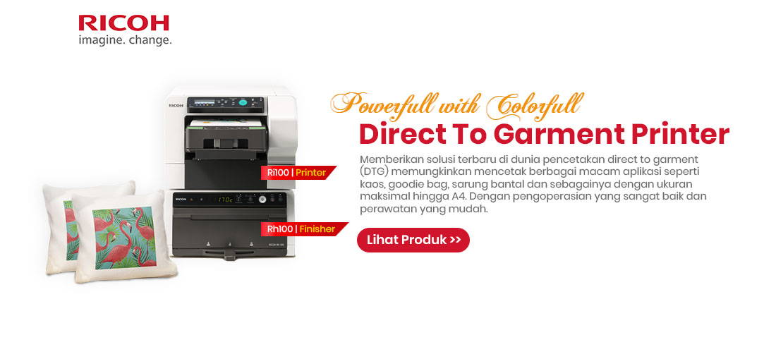 ricoh direct to garment printer