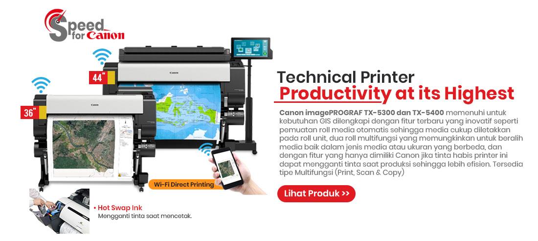 canon imageprograf tx5300-tx5400