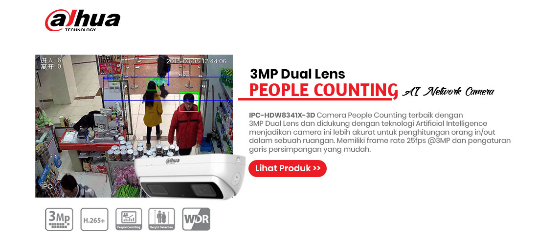 dahua people counting ipc-hdw8341x-3d