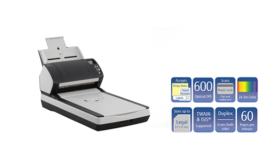 jual fujitsu fi-7260 document scanner