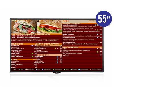jual lg 55sm5ke digital signage