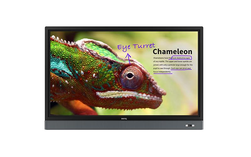 jual interactive flat panel benq rm5501k