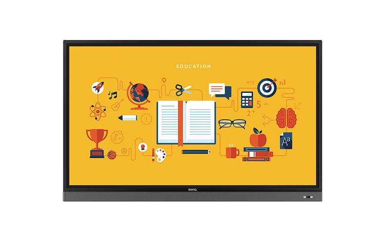 jual interactive flat panel benq rm8601k