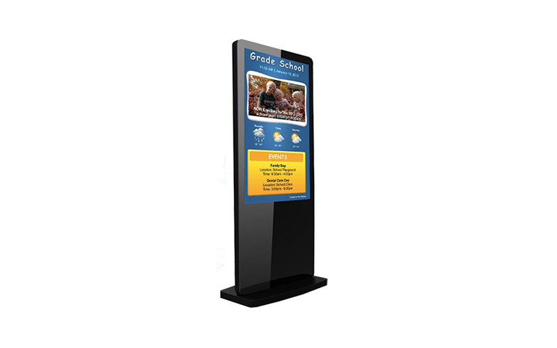 Digital Ad Display Floorstand 55