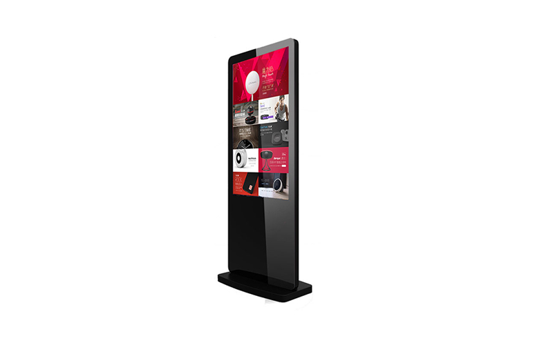digital ad display floorstand 49 inch