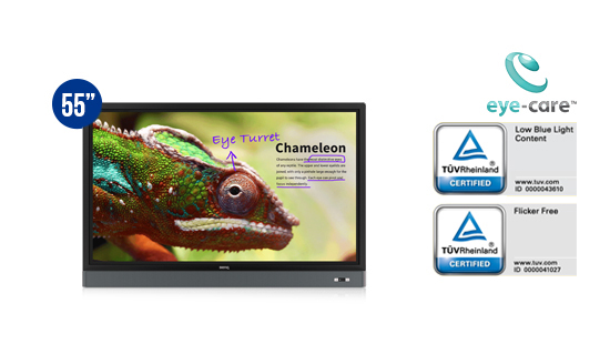 jual benq interactive flat panel rm5501k