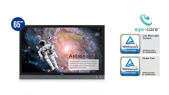 jual benq interactive flat panel rm6501k