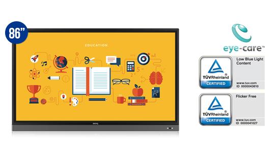 jual benq interactive flat panel rm8601k