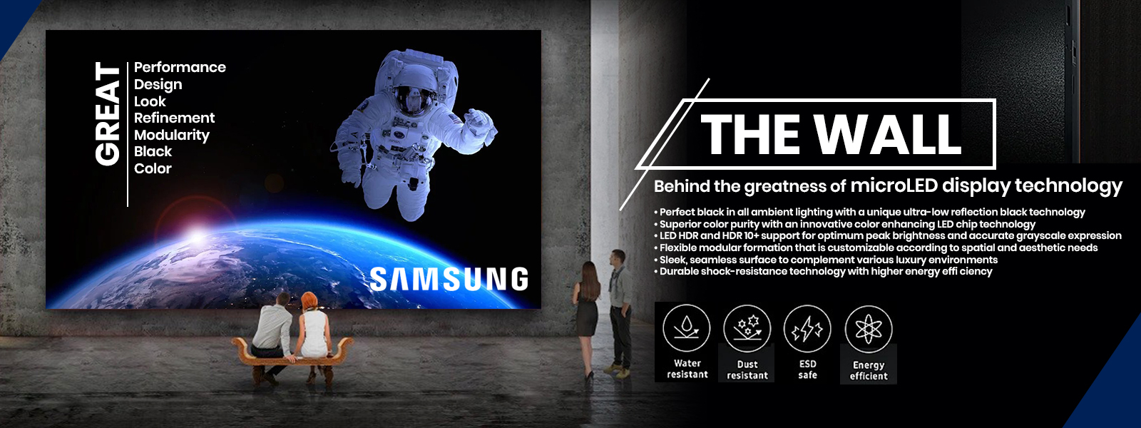 samsung the wall slider