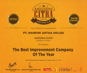 Anugerah Citra 2019 - The Best Improvement Company Of The Year