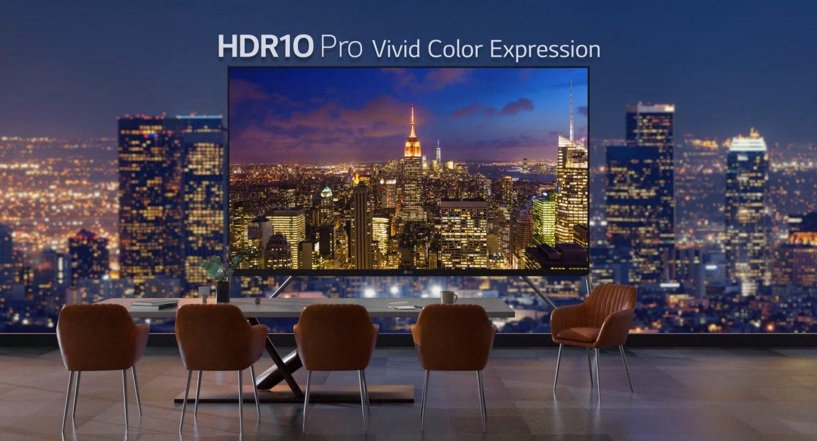 hdr10 pro vivid color expression