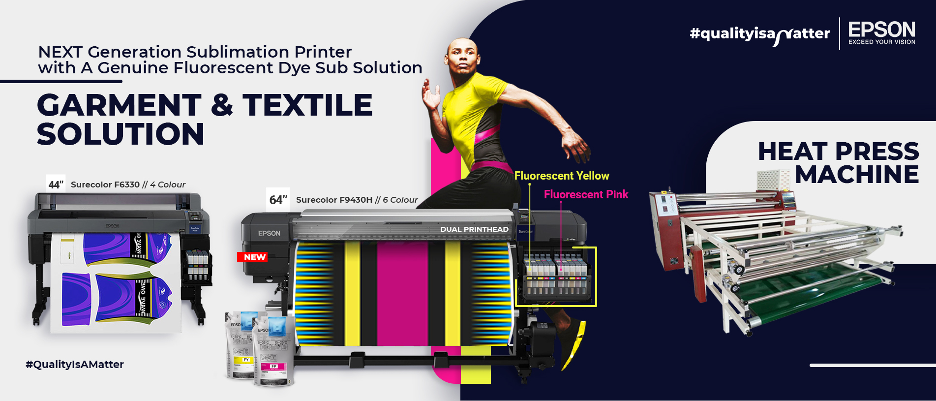 sublimation printer & heat press machine slider