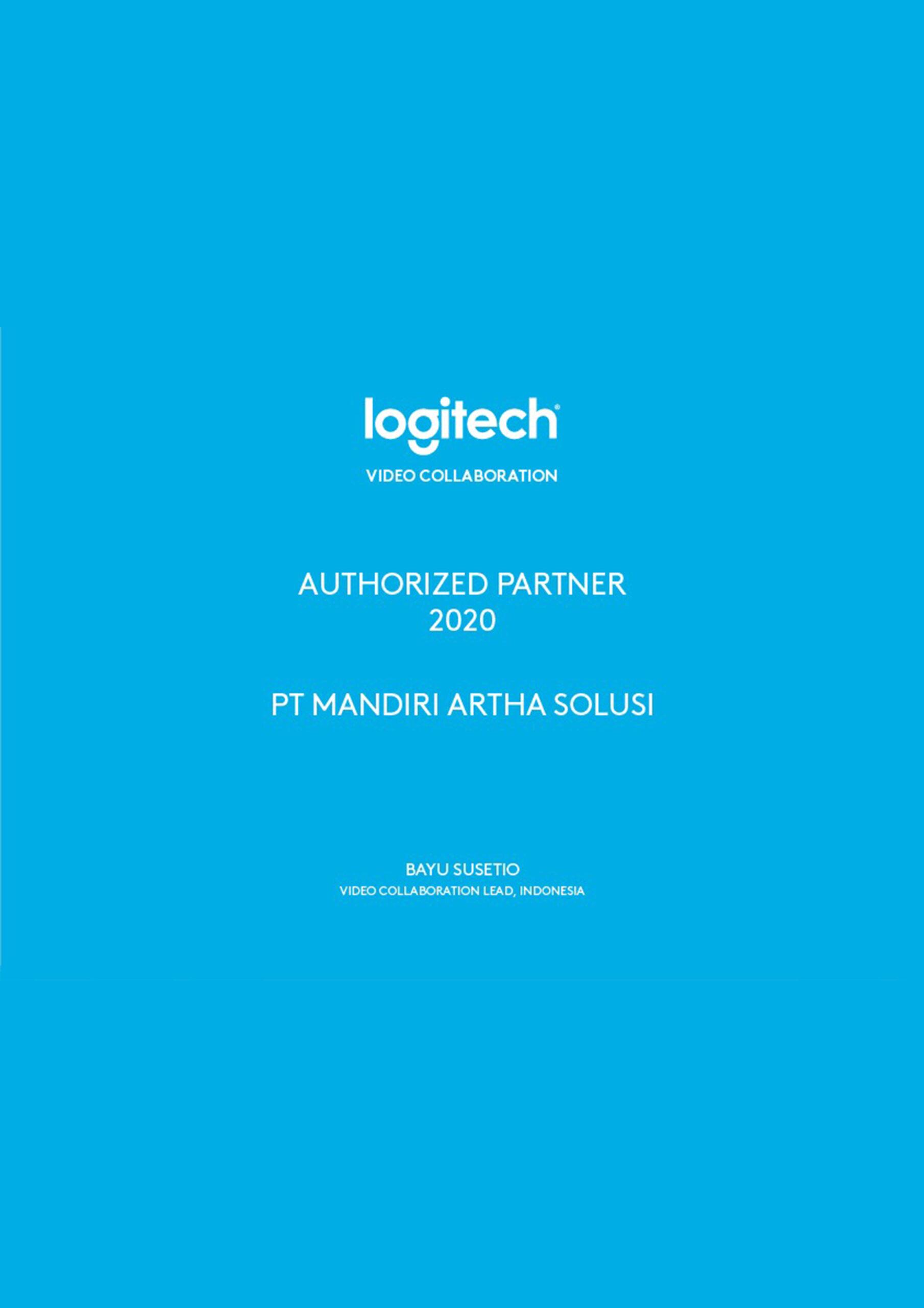 Surat Keterangan Partner Logitech